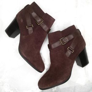 Cole Haan Nile II Brown Ankle Booties Grand OS